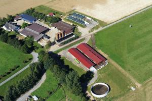 Luftbild Hof Barmbach Niederbrechen